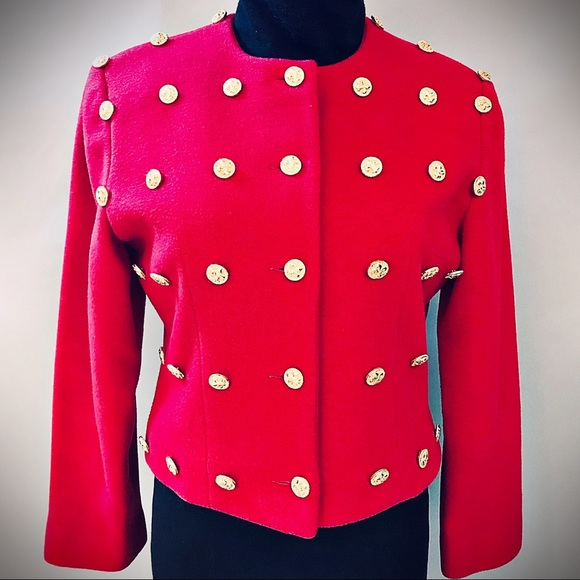 Patrick Kelly Jackets & Blazers - Designer Patrick Kelly 80's Button Jacket Vintage